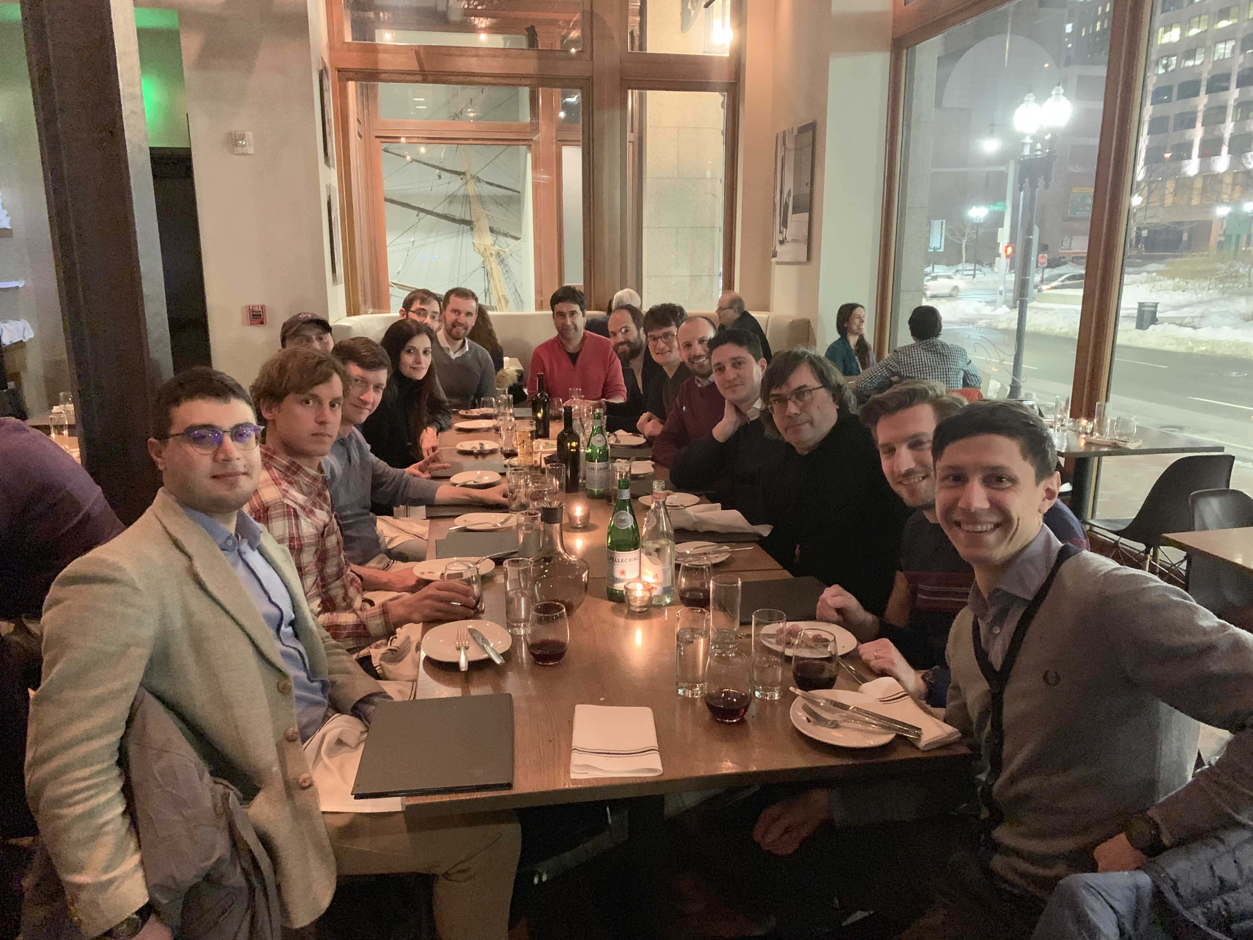 Quasiamore/THEOS group reunion, Boston, APS March Meeting 2019